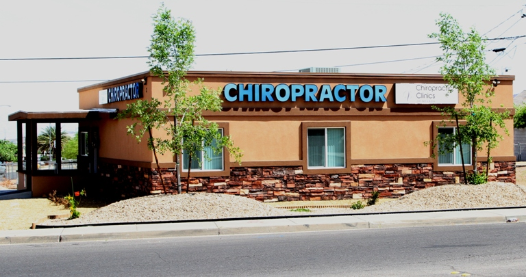 Henderson NV chiropractor office from Water Street